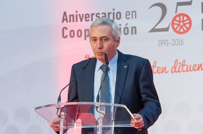 """Iñigo Ucín: """"El futuro centro productivo de MAPSA estará en Navarra"""""""
