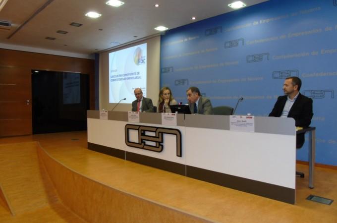 La Red Navarra de Clusters agrupa a más de 1.000 empresas y casi 75.000 trabajadores