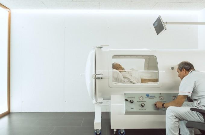 Oxien, primer centro de Medicina Hiperbárica en Navarra