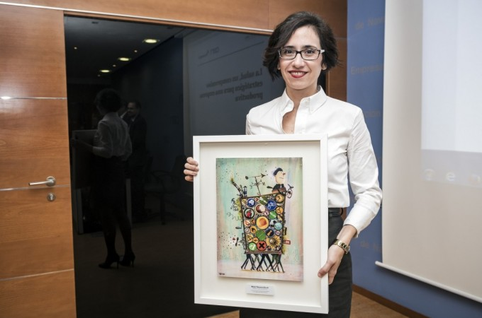 'Maier Navarra', premio Azul 2016 de Mutua Navarra