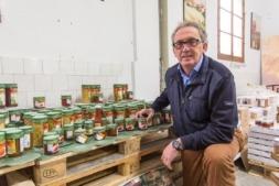 José Pedro Salcedo, ganador a la Trayectoria Empresarial Premios Alimenta Navarra 2016 (Foto: Víctor Rodrígo)