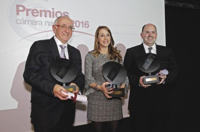 Llamada a la convivencia en la entrega de los 'Premios Cámara 2016′