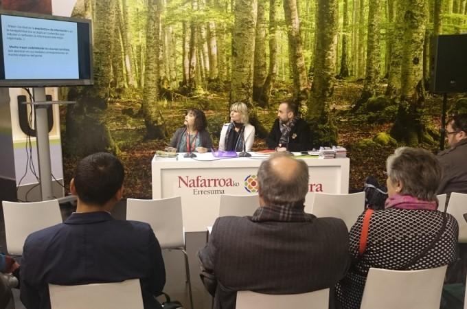 Puesta de largo del Turismo de Navarra en el primer día de FITUR 2017