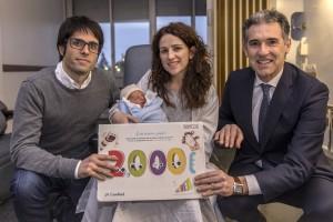 Caixabank primer bebé 2017