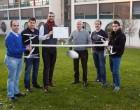 Crean en la UPNA un dron híbrido que despega y aterriza en vertical y vuela como un avión