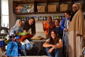 Grupo en Marrakech