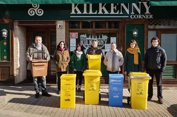 Ecoembes promueve un proyecto de reciclaje para el Canal HORECA en Valdizarbe