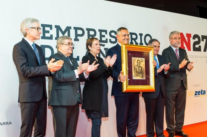 Juan Miguel Sucunza (Azkoyen), premio 'Empresario del Año 2016′
