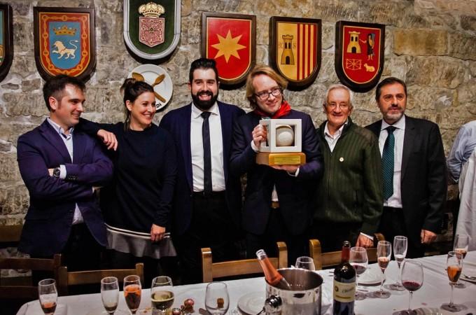 El viticultor francés Clovis Taittinger, premio 'Periodistas de Navarra 2017′