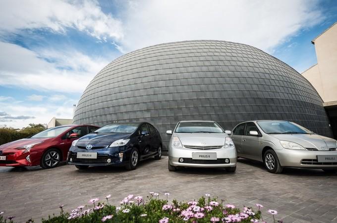 Toyota supera los 10 millones de híbridos vendidos en todo el mundo