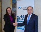 """Caixabank y CEN renuevan y amplían su convenio """"en pro de la empresa navarra"""""""