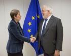 Reunión en Bruselas con el comisario de Energía Arias Cañete