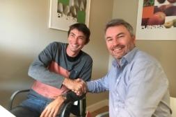 Thomas Dabilly y Alexandre Pierron-Darbonne Planasa en China