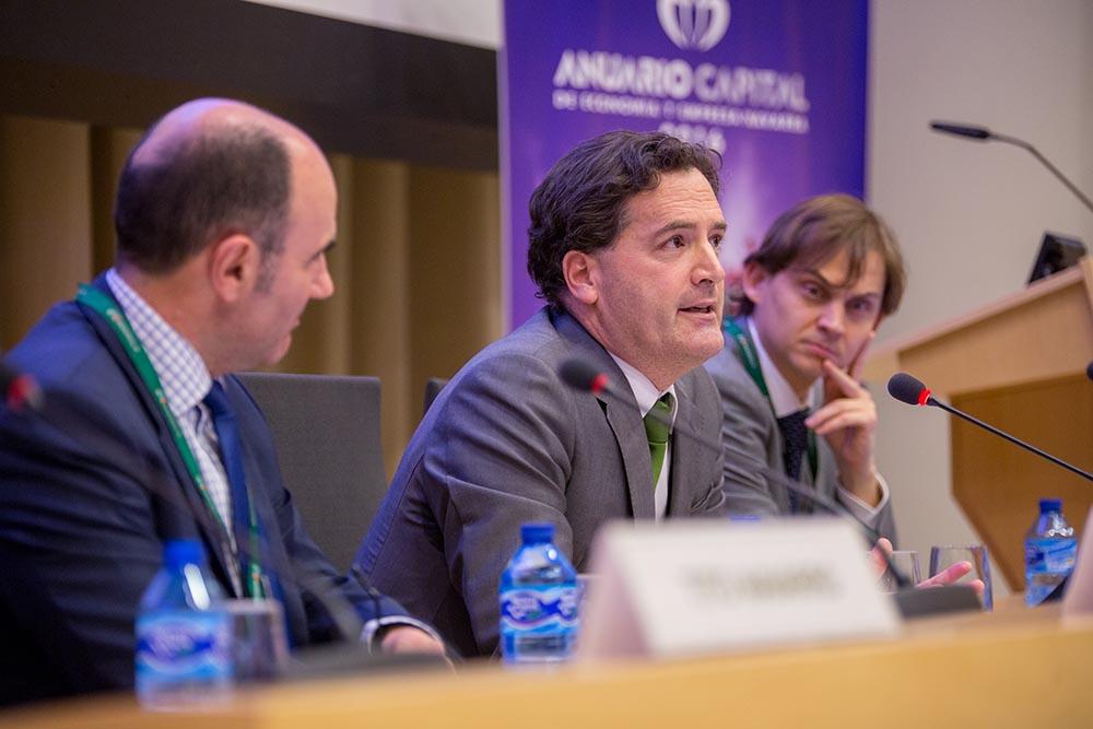 Presentación del Anuario Capital 2016 en Bilbao