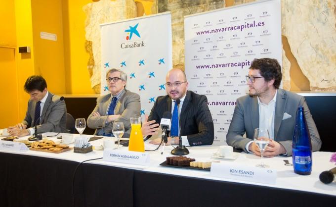 Desayuno Empresarial con Fermín Albadalejo en Tudela