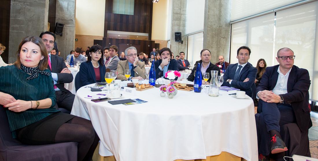 Desayuno Empresarial con Fermín Albaladejo en Tudela
