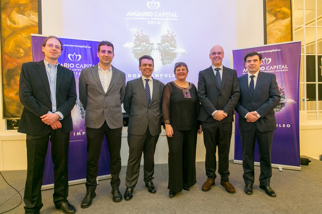Presentación del Anuario Capital 2016 en Pamplona