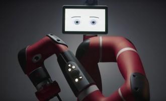 Aldakin trae a Navarra a 'Sawyer', el robot que colabora con el hombre