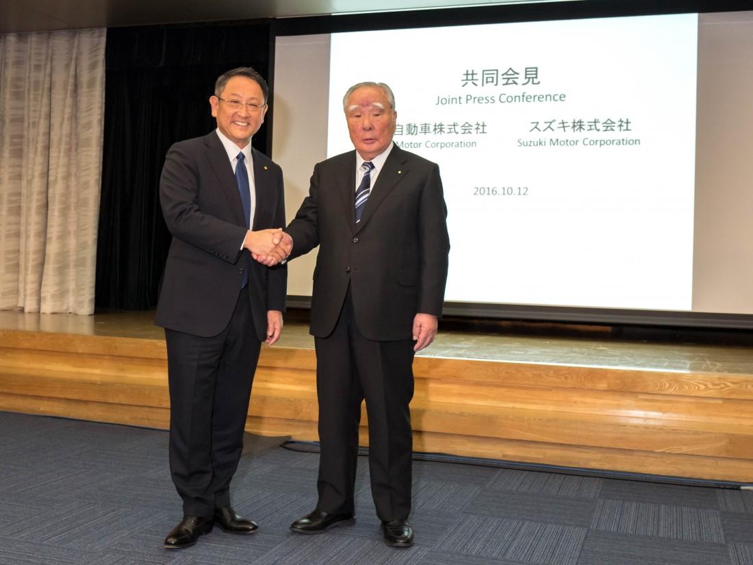 Alianza estratégica entre Toyota y Suzuki