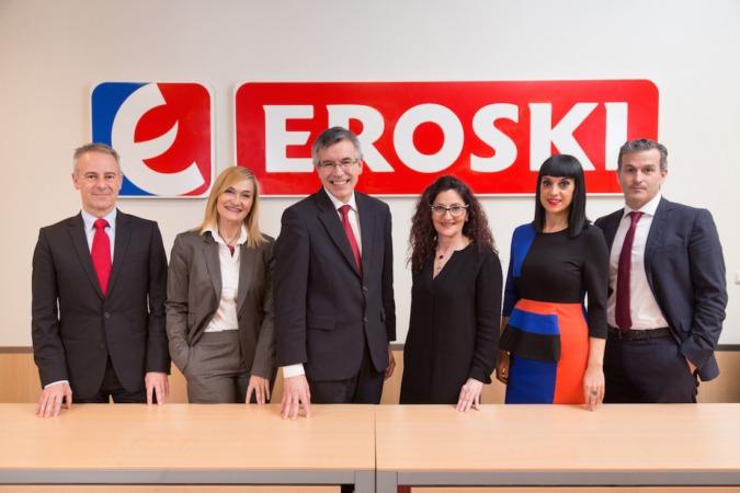 Imagen del Consejo de Dirección de EROSKI (Archivo. Marzo 2017)