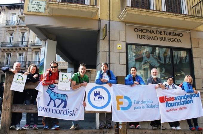 'Camina por la Diabetes a Santiago' comienza en Navarra