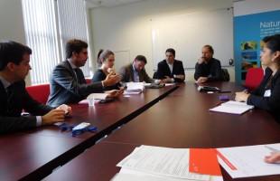 Navarra se interesa en Bruselas por los instrumentos financieros de la UE
