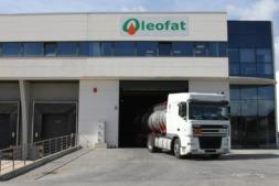Instalaciones de Oleofat, empresa que lidera el proyecto Extracte Lur, en la Ciudad Agroalimentaria de Tudela.