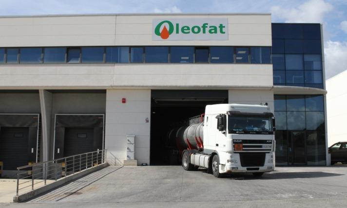 Instalaciones de Oleofat en la Ciudad Agroalimentaria de Tudela.