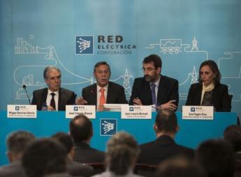 Folgado, durante una rueda de prensa en Madrid