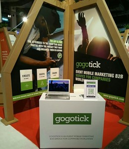 Stand Gogotick en MWC