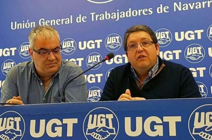 UGT denuncia la situación de las subcontratas en la Obra Pública de Navarra