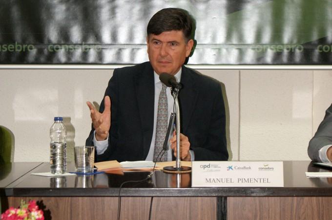 """Manuel Pimentel: """"No sabemos qué mundo estamos construyendo"""""""