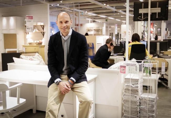 José Antonio Traverso, director del Punto de Recogida de Ikea en Navarra