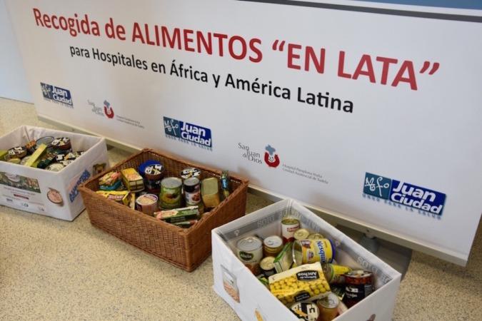 La campaña regresa este mes de mayo y espera alcanzar la cifra del año pasado: 5.353 kilos de latas de conserva recogidas para África y América Latina.