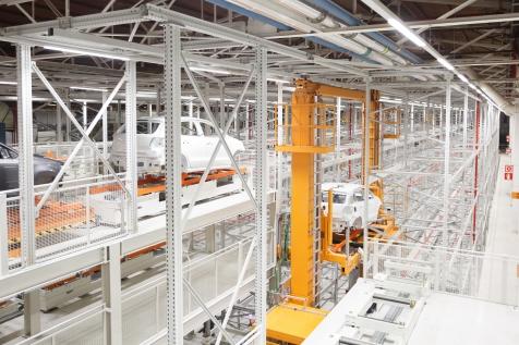 Vista Panorámica nuevo almacén VW Navarra
