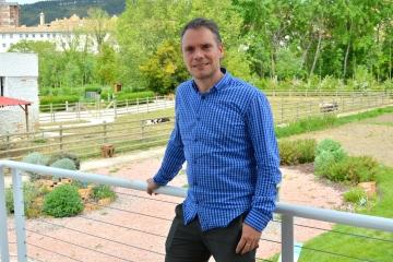 Iñaki Mendióroz, nuevo presidente de Fundaciones de Navarra. FOTO: MIGUEL SUÁREZ