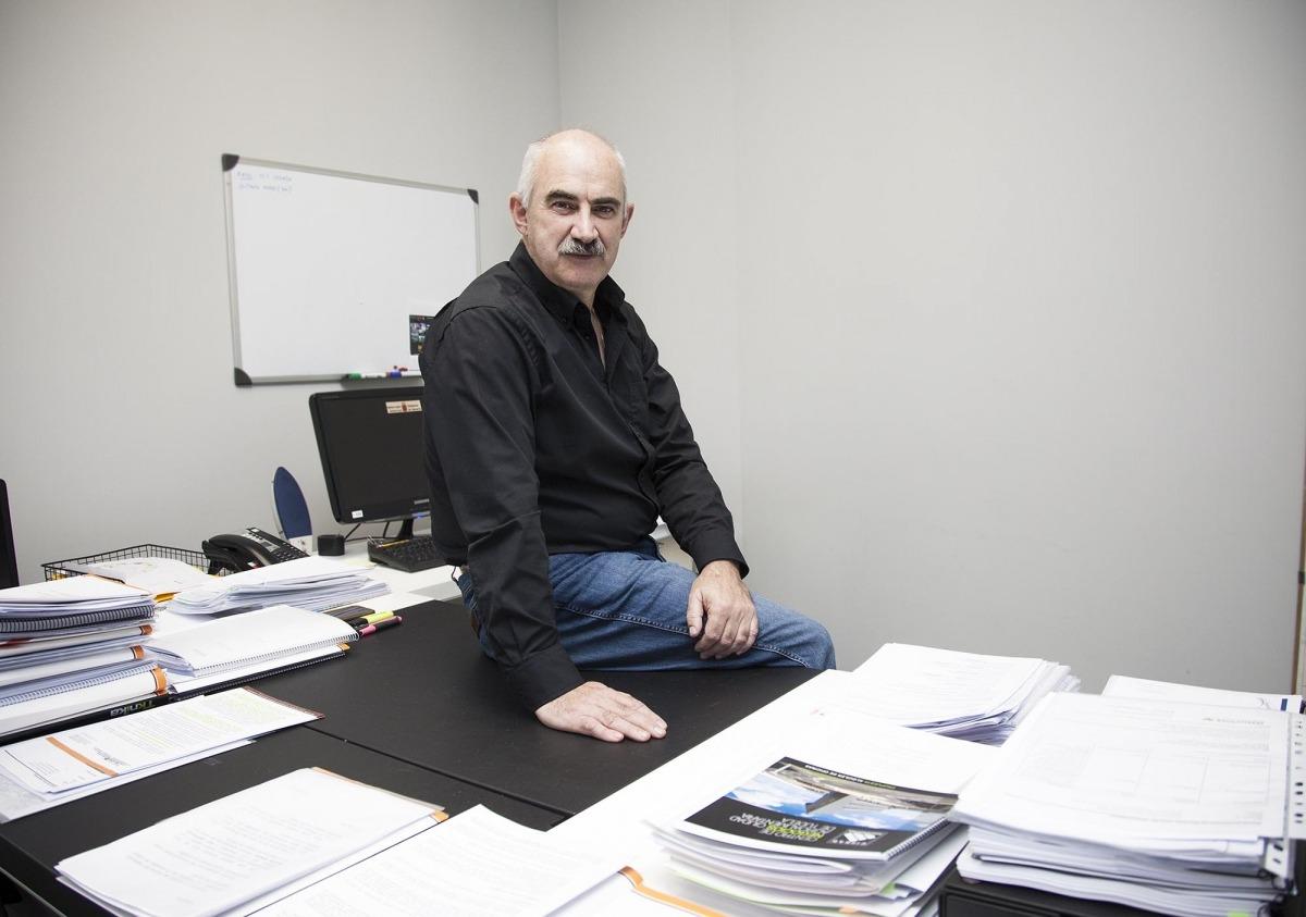 José María Aierdi, gerente de Nasuvinsa. Foto: Miguel Ciriza