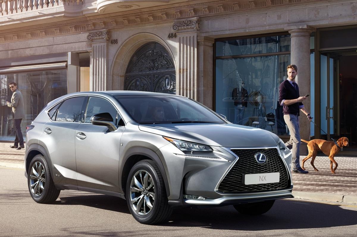 Imagen promocional de un Lexus NX