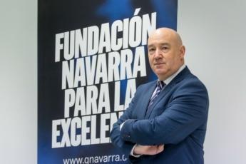 Marino Barásoain, director gerente de Fundación Navarra para la Excelencia FOTO: Víctor Rodrigo.