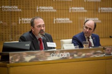 Imagen del reciente encuentro promovido por el Clúster de la Automoción de Navarra.