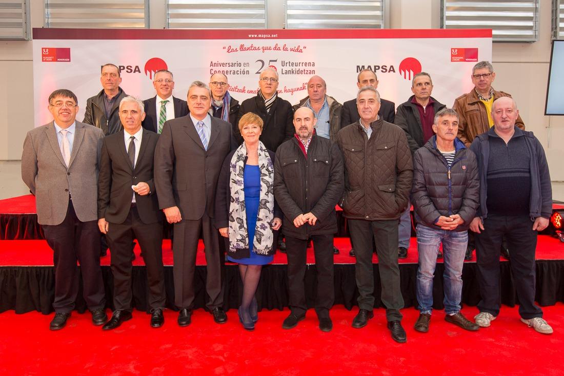 25º Aniversario de la Cooperativización de MAPSA