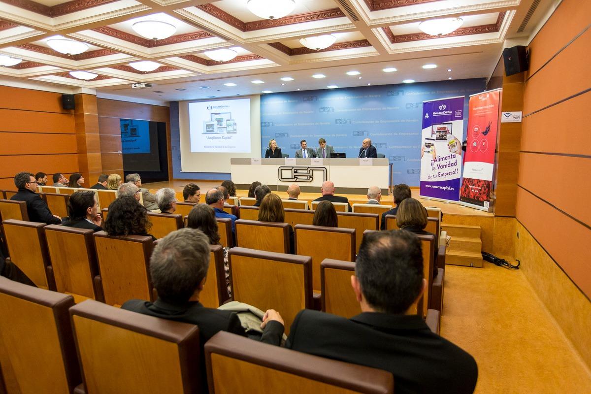 Presentación de la nueva web de NavarraCapital.es