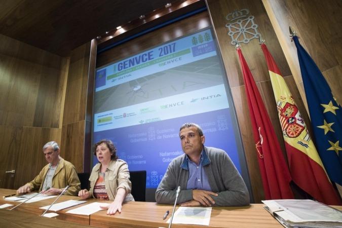 Presentación oficial de las V Jornadas GENVCE organizadas por la sociedad pública INTIA.