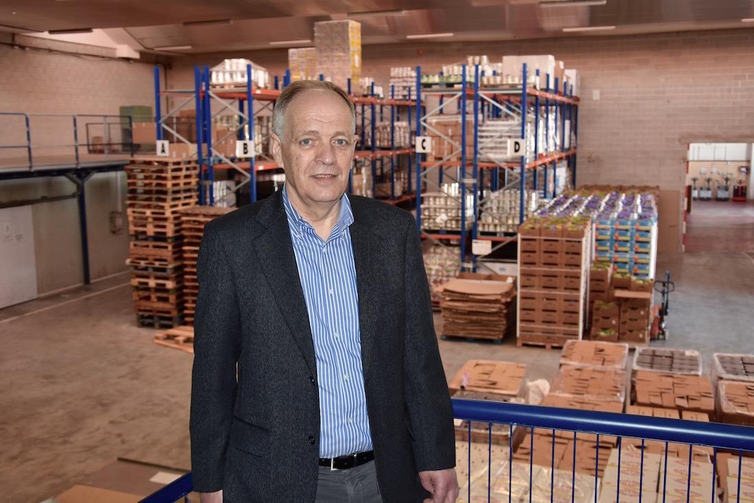 Gregorio Yoldi, presidente del Banco de Alimentos de Navarra