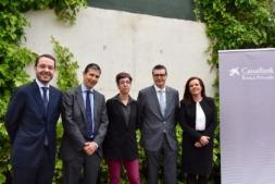 Carlos Ayesa, Jaime Silos, Elena Martínez, Jordi Casajoana y Ana Díaz Fontana.