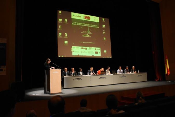Baluarte acogió el Ier Congreso sobre Ciberdelincuencia y Delitos Informáticos de Navarra
