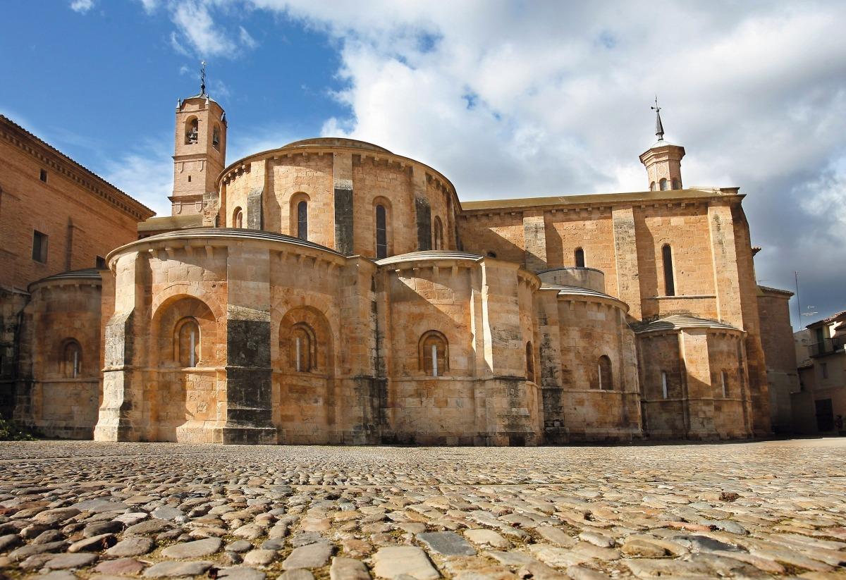 Monasterio de Fitero., uno de los principales atractivos turísticos de Navarra. AUTOR: Oscar Montero