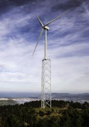 Prototipo de una de las torres de Nabrawind Techonologies.