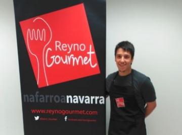 Imagen de Aarón Ortiz en las instalaciones de Reyno Gourmet