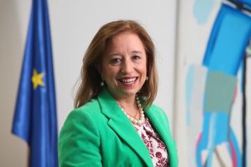 Imagen de la Secretaria de Estado de Comercio, Marisa Poncela